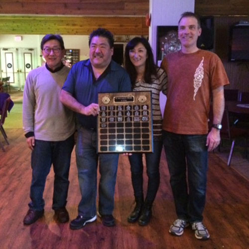 2016 Vernon B Winners