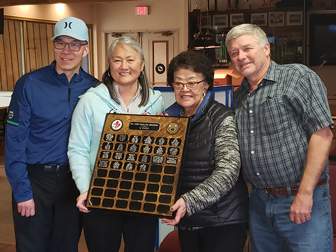 52nd BC Nisei Bonspiel A Event Winners