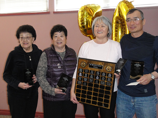 50th BC Nisei Bonspiel B Event Winners