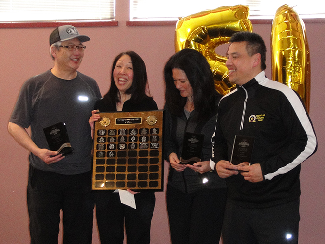 50th BC Nisei Bonspiel C Event Winners