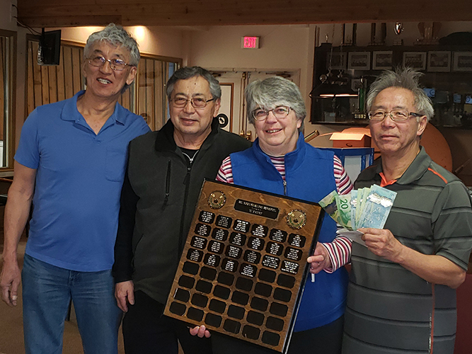 52nd BC Nisei Bonspiel C Event Winners