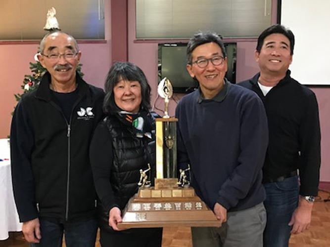 2018 Vancouver Nisei Christmas Bonspiel Winners